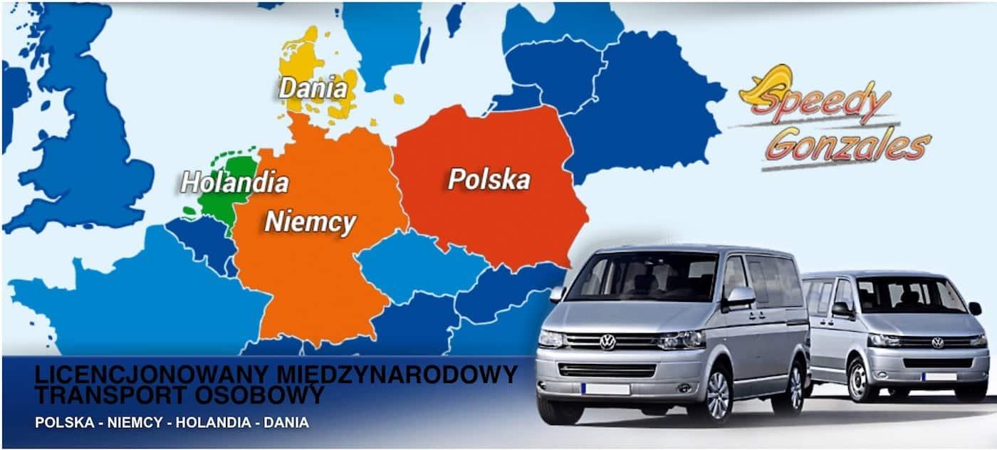 Busy do Danii, Holandii i Niemiec