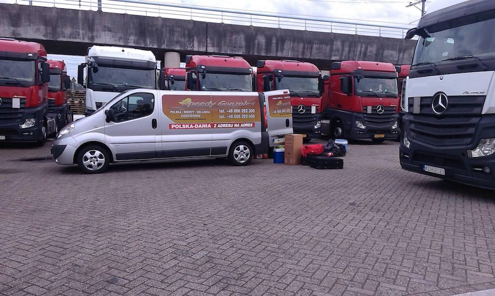 Przewóz osób - Dania, Holandia, Niemcy