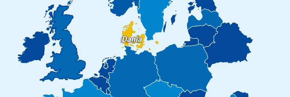 Przewozy do Danii